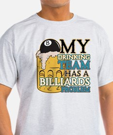 Billiards Drinking Team T-Shirt