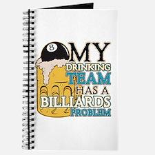 Billiards Drinking Team Journal