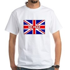 No Fear Union Jack Shirt