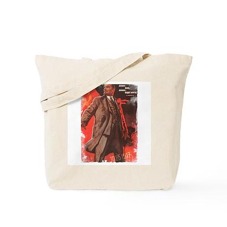 Lenin Lives Tote Bag