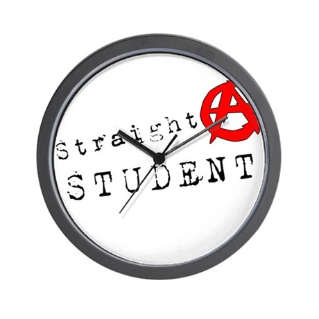 Straight A Student Wall Clock