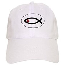 Star of David Fish Baseball Cap