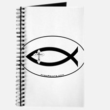 Russian Orthodox Cross Fish Journal