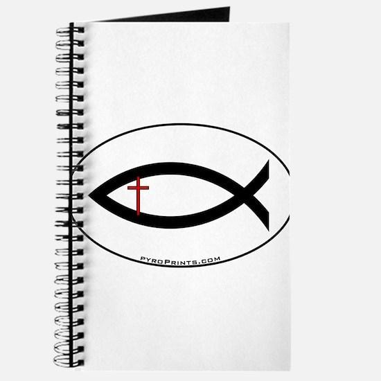 Small Cross Fish Journal