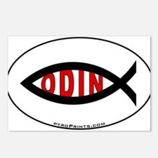 Odin Fish Postcards (Package of 8)