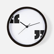 """ "" Wall Clock"