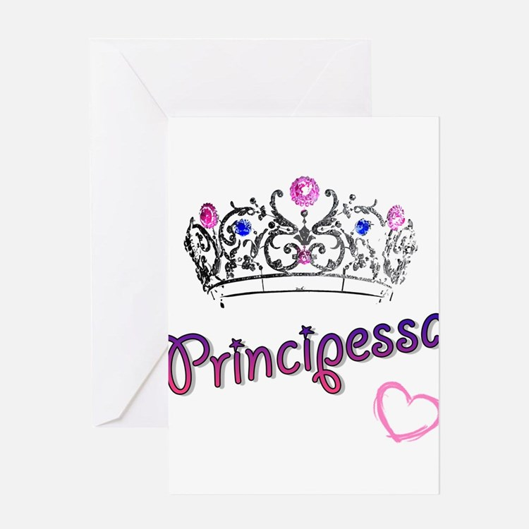 Principessa Greeting Card