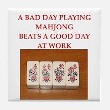 mahjong Tile Coaster