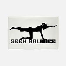 Seek Balance Rectangle Magnet (10 pack)
