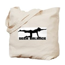 Seek Balance Tote Bag