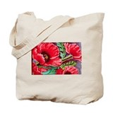 Poppy tote Canvas Totes