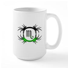 Scorpio Green 2 Mug
