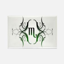 Scorpio Green 1 Rectangle Magnet