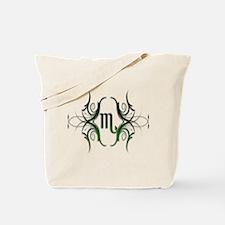 Scorpio Green 1 Tote Bag