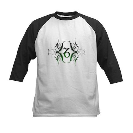 Capricorn Green 1 Kids Baseball Jersey