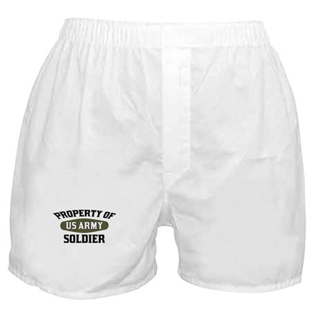 Property US Army Soldier Boxer Shorts