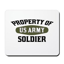 Property US Army Soldier Mousepad