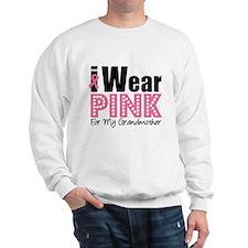 I Wear Pink Grandmother Jumper