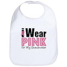 I Wear Pink Grandmother Bib