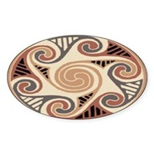 Celtic Circle of Life Oval Decal