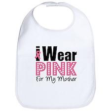 I Wear Pink Mother Bib