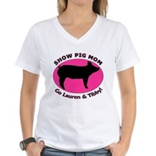 Show Pig Mom - Customized Shirt