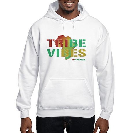 Tribe Vibes Retro Hip Hop Hooded Sweatshirt