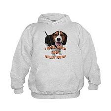 beagle belly rub Hoodie