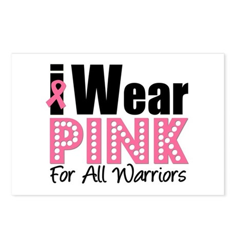 Breast Cancer Warriors Postcards (Package of 8)