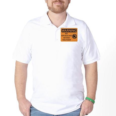 No Republicans Golf Shirt