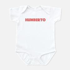 Retro Humberto (Red) Infant Bodysuit