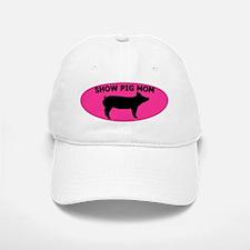 Show Pig Mom Baseball Baseball Cap