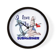 Love my Submariner Wall Clock