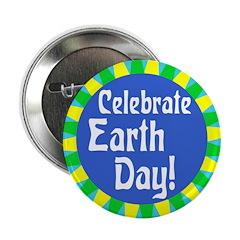Celebrate Earth Day Button