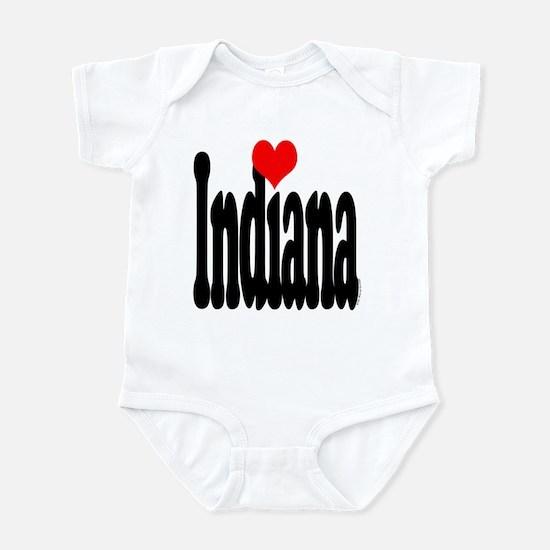 I love Indiana Infant Bodysuit
