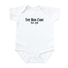 The Bro Code Infant Bodysuit
