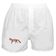 Gray Fox Animal Lover Boxer Shorts