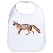 Gray Fox Animal Lover Bib