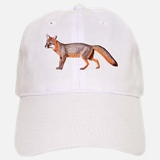 Gray Fox Animal Lover Baseball Baseball Cap