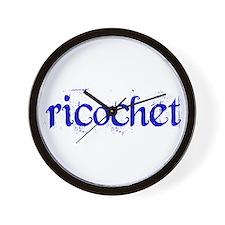 Ricochet Wall Clock