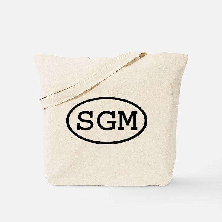 SGM Oval Tote Bag