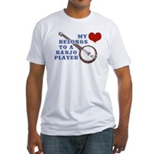 My Heart Belongs to a Banjo Player Shirt