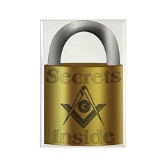 Masonic Secrets Rectangle Magnet (100 pack)