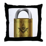 Masonic Secrets Throw Pillow