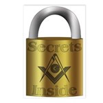 Masonic Secrets Postcards (Package of 8)