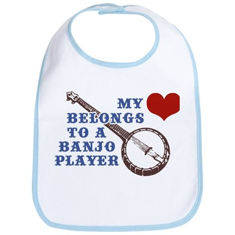 My Heart Belongs to a Banjo Player Bib