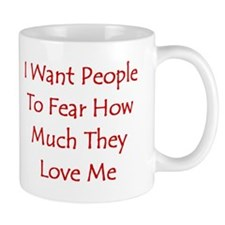Fear Love Mugs
