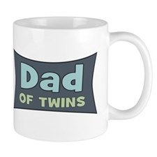 Dad of Twins Small Mug