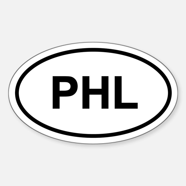 PHL Oval Decal