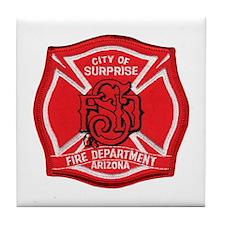 Surprise FD Tile Coaster